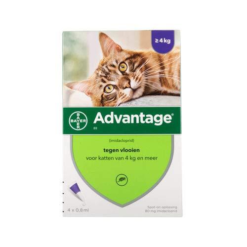 ADVANTAGE 80 mg f. große Katzen -