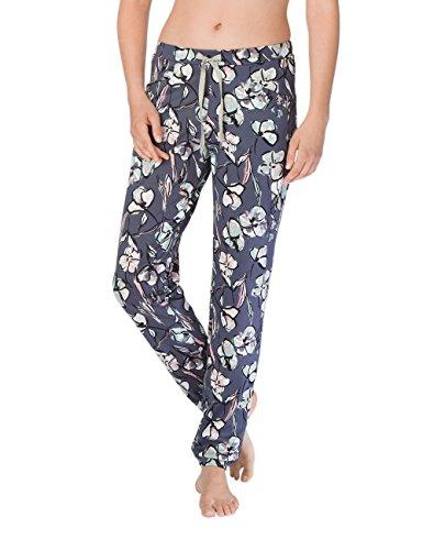 Calida Damen Schlafanzughose Favourites Trend Blau (Mystic Blue 428)