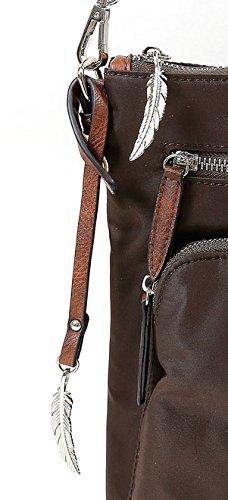 ffb4009037bf6 ... Kleine Umhängetasche mit Fronttasche von Waipuna aus hochwertigem  Nylon