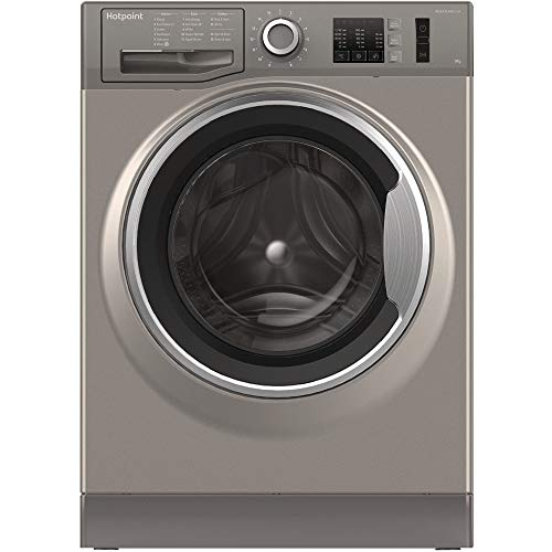 Hotpoint NM10844GS Ultra Efficient 8kg 1400rpm Freestanding Washing Machine - Graphite