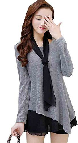 Grey Women Tunic Short Kurti For Jeans Embroidered Cotton Top For Daily wear Stylish Casual and Western Wear Women, Girls Top,Women\'s Tops for Women Girls Ladies Latest regular fit tops Stylish Desig