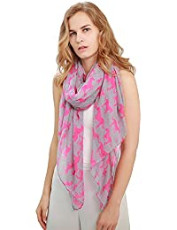 Ladies Soft Unicorn/Horse Print Scarfs For Women Oversized Gift By Diarylook