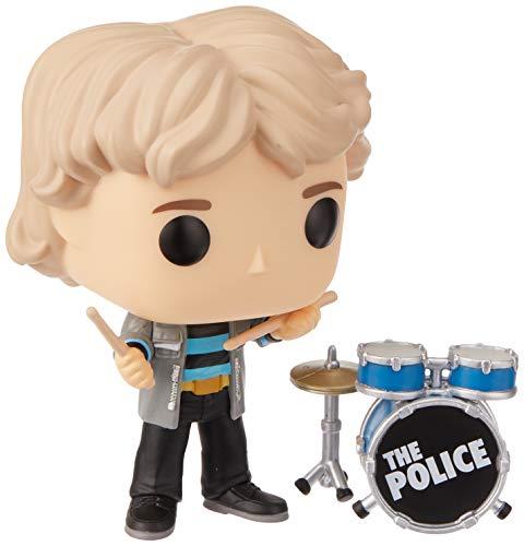 Funko- Pop Figura de Vinilo: Música: The Police-Stewart Copeland Coleccionable, Multicolor (40089)