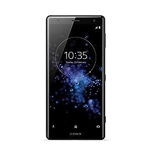 Sony Xperia XZ2 Dual SIM, 4GB RAM, 64GB UFS internal memory - UK SIM-Free Smartphone - Liquid Black (Exclusive to Amazon) [UK]