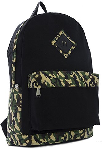 Big Handbag Shop - Borsa a Zainetto Unisex (camouflage)