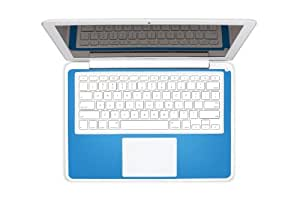 Twelve South SurfacePad Color: Lederabdeckung für 33 cm (13 Zoll) MacBook und MacBook Pro, Cyan Blue