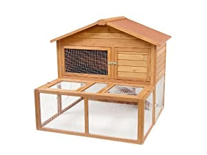 Meadow Lodge The Manor Small Animal Hutch by Rosewood Pet Products Ltd