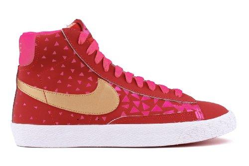 Nike Blazer Mid Vintage (Gs), Baskets mode fille Rose