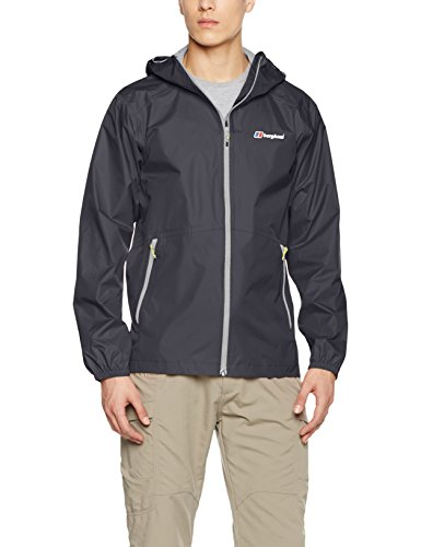 Berghaus Herren Deluge Light Wasserfeste Jacke, Carbon, XXL North Face Mountain Light Jacket