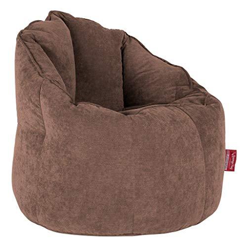 Lounge Pug®, Puff Silla 'Abrazo', Chenilla - Chocolate