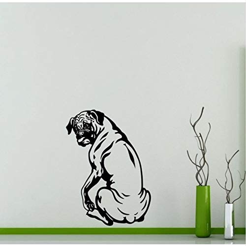Fushoulu 45X68Cm Single Satting Pet Dog Cute Wall Decals Home Nursery Bedroom Animal Series Special Decor Vinyl Art Wall Stickers Wallpaper