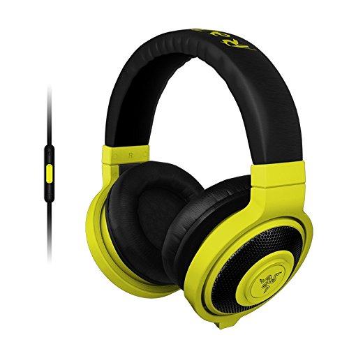 Razer Kraken Mobile - Analoge Gaming und Musik Kopfhörer neon gelb