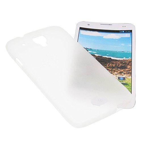 foto-kontor Tasche für Mobiwire Ahiga Gummi TPU Schutz Handytasche milchig transparent
