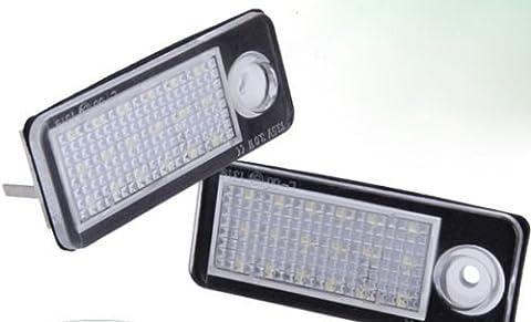 Set LED SMD Kennzeichenbeleuchtung Kennzeichenleuchten Nummernschild 7307