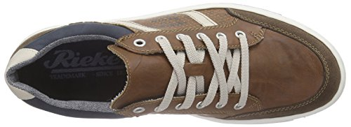 Rieker 19017 Sneakers-men Herren Sneakers Braun (cigar/nut/chalk/pazifik / 26)