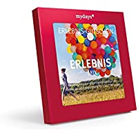 Erlebnis-Gutschein   mydays   ERLEBNIS-MIX   120 Erlebnisse an über 390 Standorte   Geschenkidee für Frauen und Männer   Inklusive Geschenkbox