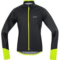 Gore Bike Wear JGPOWR990805 Giacca Uomo Ciclismo su strada, Impermeabile, GORE-TEX Active, POWER GT AS, Taglia L, Nero/Giallo - Mens Sport Bike