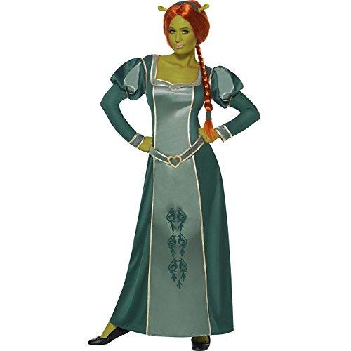 tüm Prinzessin Fiona Karneval Fasching Größe M (Fiona Oger Kostüm)