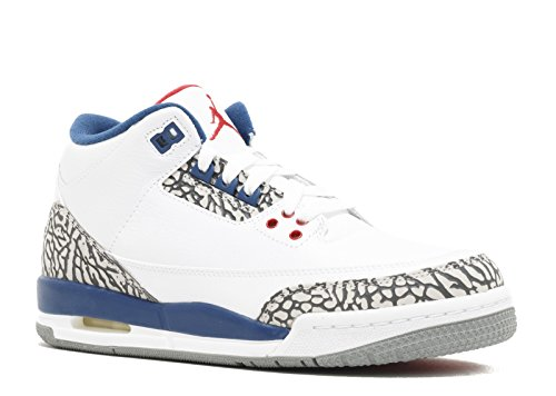 Air Jordan 3 Retro OG BG (GS) 'True Blue 2016 Release' - 854261-106 - Size 6.5 -