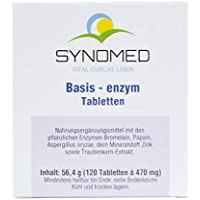 Basis-enzym Tabletten, 120 Tabletten (56.4 g) preisvergleich bei billige-tabletten.eu