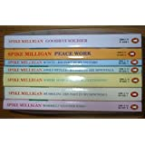 """The Spike Milligan Collection - 7 books """" Peace Work"""", """"Rommel? Gunner Who?"""", """"Mussolini: His Part in My Downfall"""", """"Where Have All The Bullets Gone?"""", """" Monty: His Part in My Victory"""", """"Adolf Hitler: My Part in His Downfall"""", """"Goodbye Soldier"""""""