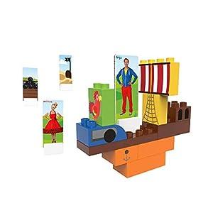 BIOBUDDI Juf Roos BB-0112 Juguete de construcción Juego de construcción - Juguetes de construcción (Juego de construcción, Multicolor, 1,5 año(s), 26 Pieza(s), Niño/niña, Niños)