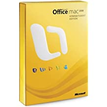 Office 2008 for Mac, Home and Student Edition (3 User Edition) (Mac)