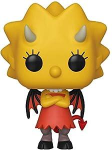 Funko- Pop Figura De Vinil: Animation: Simpsons-Lisa as Devil Coleccionable, Multicolor (39721)