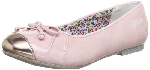S.Oliver Casual 5-5-42403-20, Ballerine Ragazza, Rosa (Pink (Rose 521)), 38