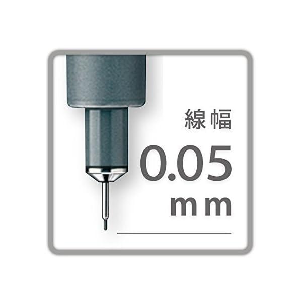 Staedtler Pigment liner Fineliner 0.05mm – Rotulador (Negro)