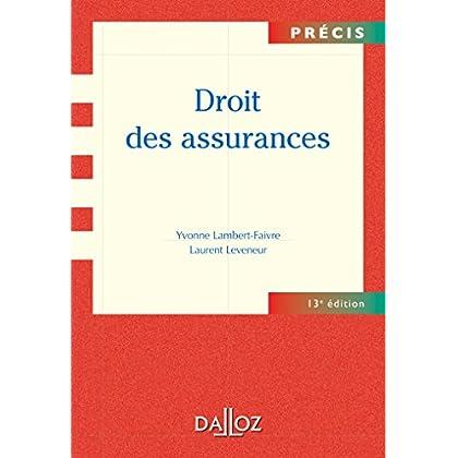 Droit des assurances - 13e éd.: Précis