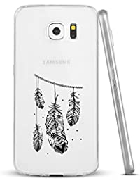 Galaxy S7 Coque Silicone Pacyer® TPU Coque Étui Housse Protecteur Transparent Bumper et Anti-Scratch Absorption Cover Noël Décoration