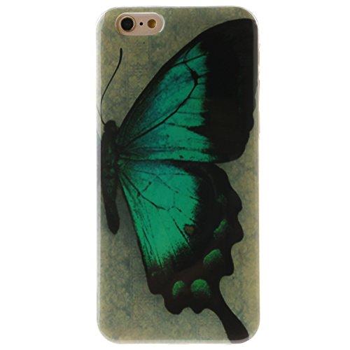 """iPhone 6s Plus Coque, MOONCASE iPhone 6 Plus Cover Case Fit Soft Silicone Housse avec Coque de Protection en TPU Etui pour iPhone 6 Plus(2014) / 6s Plus(2015) 5.5"""" - DD09 Série Colore - DD15"""
