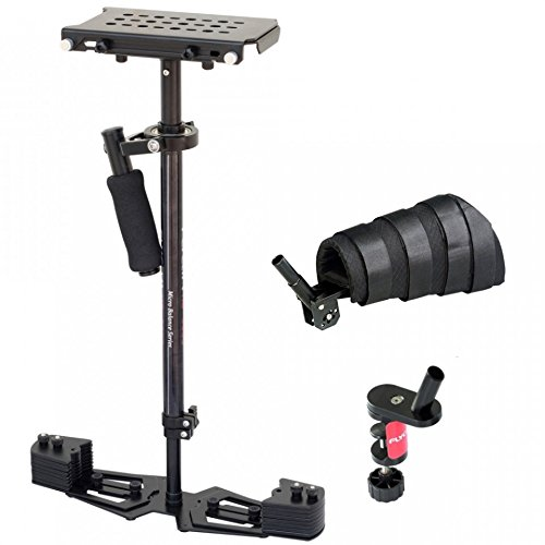 Flycam HD-5000 Video Stabilizer With Free Arm Brace, Table Clamp and Quick Release Plate (FLCM-HD5-QT) (Arm Brace)