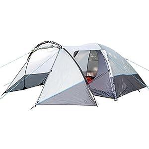 skandika unisex lykka 4 tent, grey, size 4