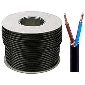 2 ou 3/fils Rouleau de c/âble flexible noir R/éf/érences 3182Y C/âble/: 0,75/mm 3183Y 1,0/mm et 1,5/mm Rouleau complet et longueurs personnalis/ées disponibles