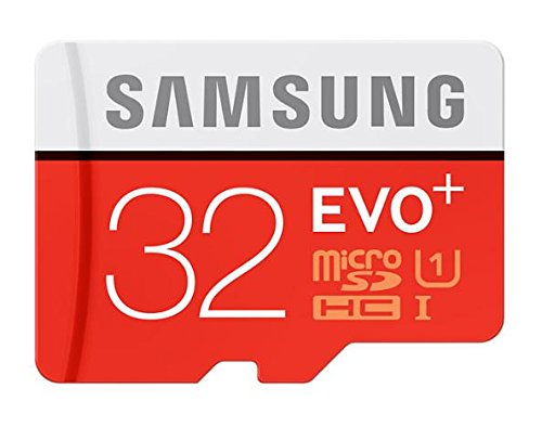 Samsung EVO Plus Class 10 32GB MicroSD 80 MB/S Memory Card with...