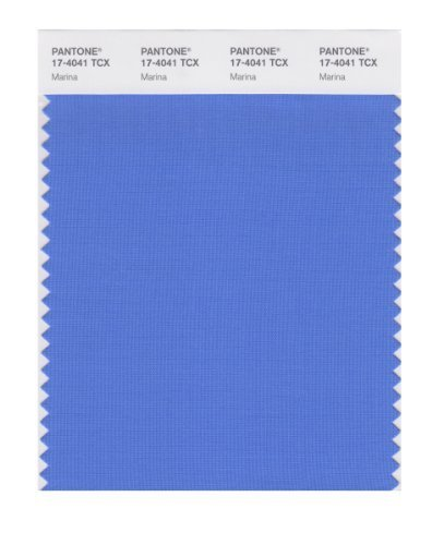 Pantone Smart 17 4041x Color Swatch Card Marina By Pantone