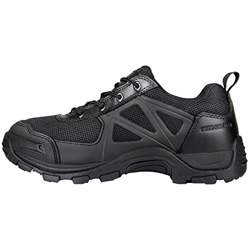 Free Soldier Herren Rapid rutschfest Camping Wandern Mountain All-Terrain Offroad Schuhe Desert Boots, schwarz, 47