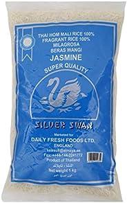 Silver Swan Fragrant Milagrosa Beras Wangi Jasmine Rice, 1 kg