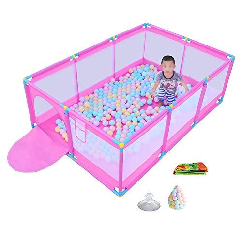 COUR DE RÉCRÉATION Parc pour Bébé Pliable avec Balles Jouer sur Le Pouce (Taille : Without Basket Box)