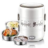 Lunch Box Électrique Boîte Chauffante Portable 220V Boîte Alimentaires...