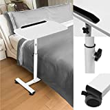 Kurtzy Laptop Study Table Adjustable Height Portable Foldable Detachable Space Saving Multipurpose Desk for Kids and Adults (Daisy White)