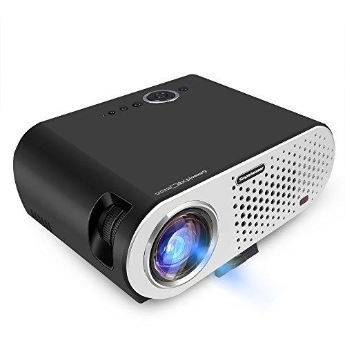 Mini Vidéodisque Portable Projecteur Full HD Home Cinema Cinéma LED Beamer TV 3200 Lumens 1280 * 800 1080P Projecteur LCD pour jeu ATV