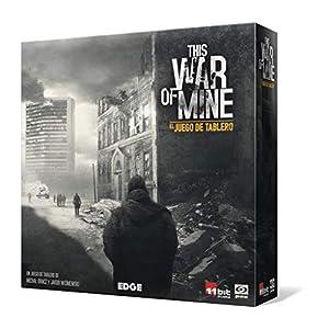Edge Entertainment- This War of Mine: El juego de tablero – Español, Color (EEGKWM01) , color/modelo surtido