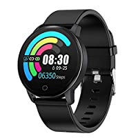 BingoFit Fitness Tracker Smart Watch with Heart Rate Monitor, Waterproof Activity Tracker with 10 Sport Modes for ios Android Sleep Monitor, Calorie Monitor Pedometer Watch for Women Men Boys Grils