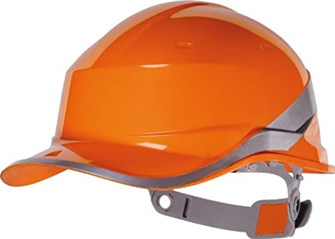 Venitex Diamond V Baseball Cap Style Safety Helmet Hard, Orange