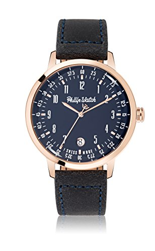 Philip Watch Grand Archive 1940 R8251598001 - Orologio da Polso Uomo