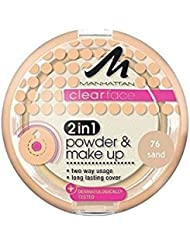 Manhattan Clearface 2in1 Powder & Makeup 76 Sand