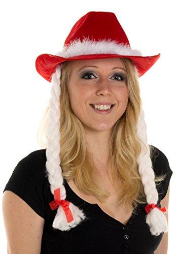 Weihnachtsmütze Nikolausmütze Mütze Weihnachten Nikolausmütze Santa Christmas Nikolaus Cowboy Hut